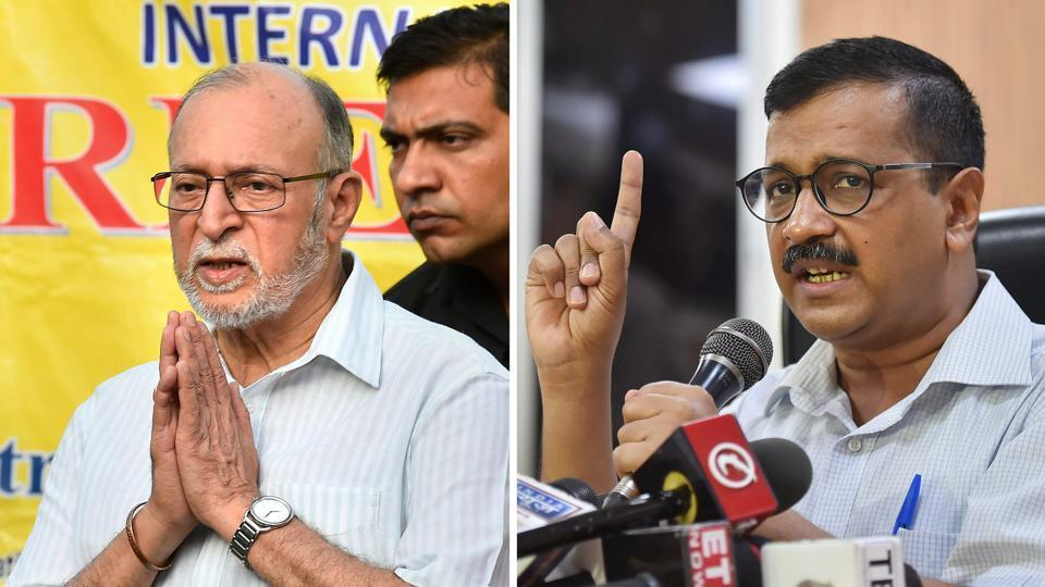 AAP,AAP vs LG,Delhi government