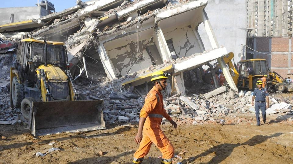 Greater Noida,Building Collapse,Greater Noida building collapse