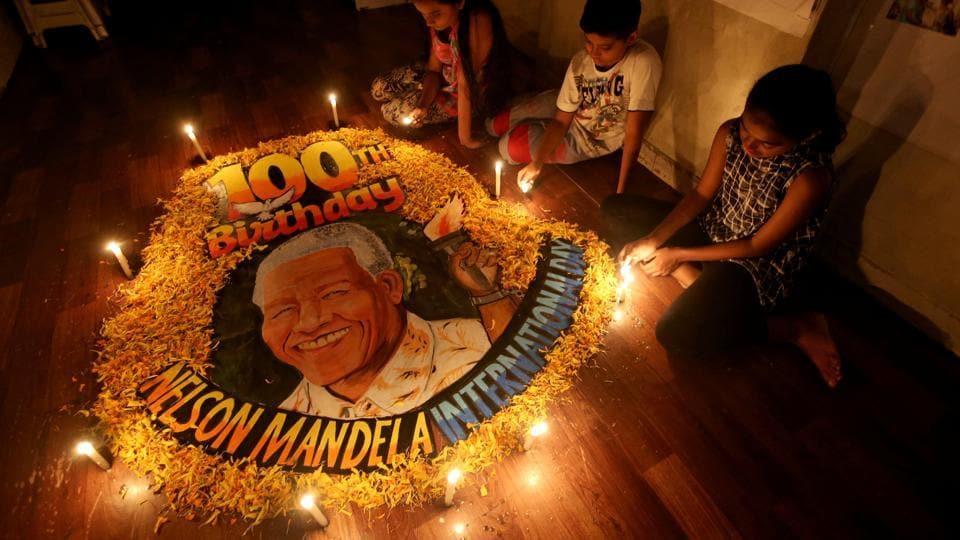 Nelson Mandela,South Africa,Nelson Mandela's birth
