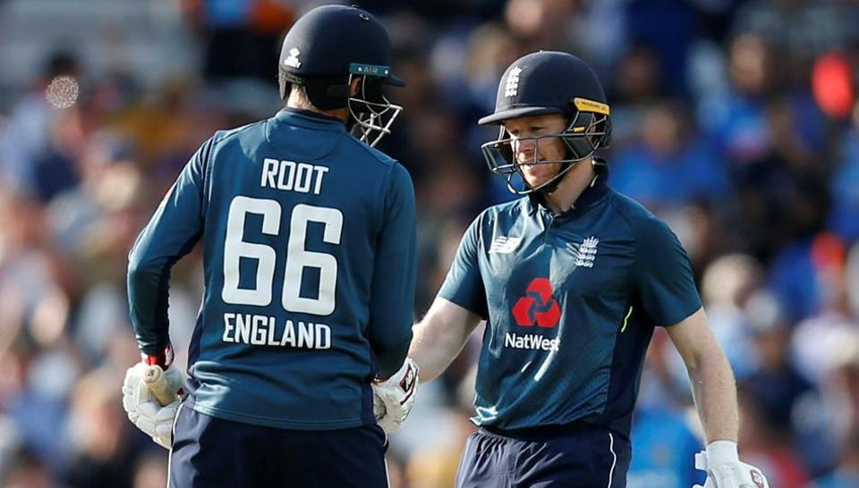 Image result for joe root and morgan