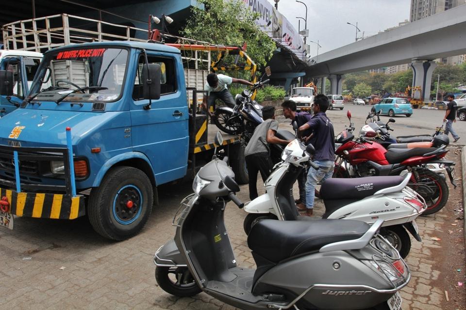Illegal parking,BMC,Hc order
