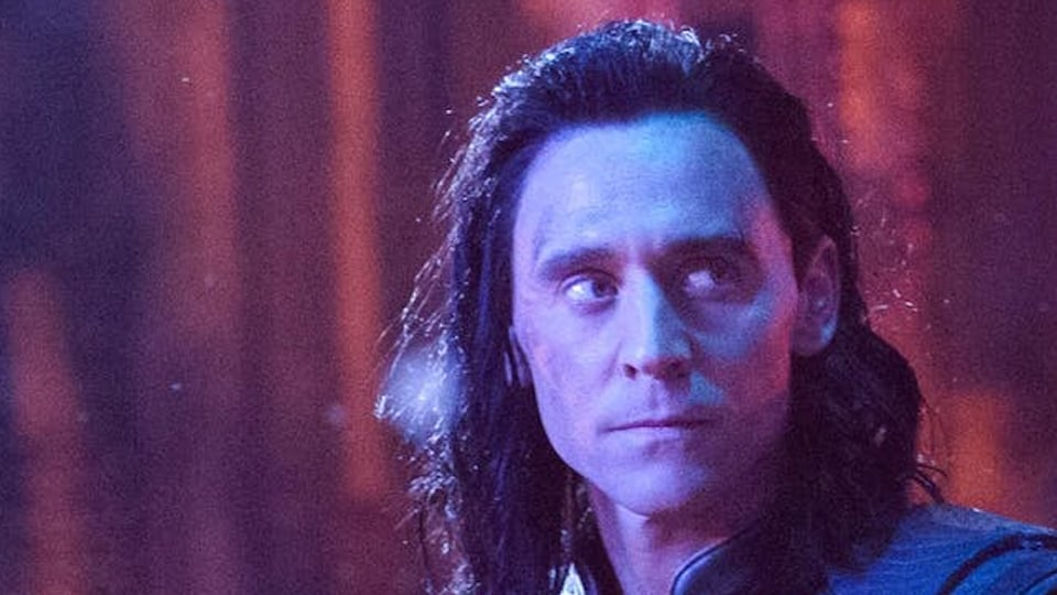 Tom Hiddleston as Loki in a still from Avengers: Infinity War.