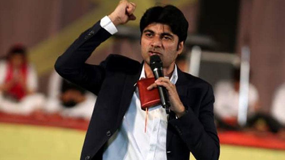 Accused Bajinder Singh.