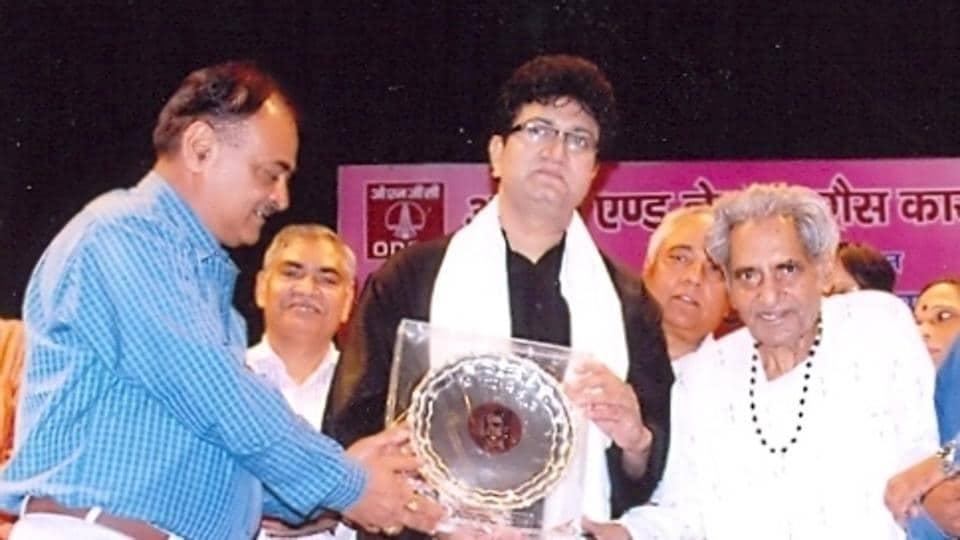 Gopal Das Neeraj,Gopal Das obit,Prasoon Joshi