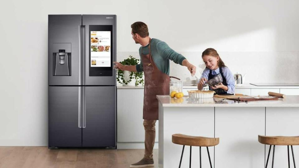 Samsung Smart Fridge With Bixby Launched In India Price
