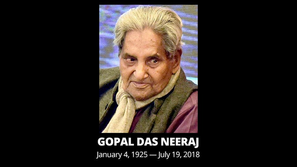 A Padma Bhushan awardee, Neeraj had suffered a head injury following a fall at his house in Agra and was undergoing treatment at a hospital there.