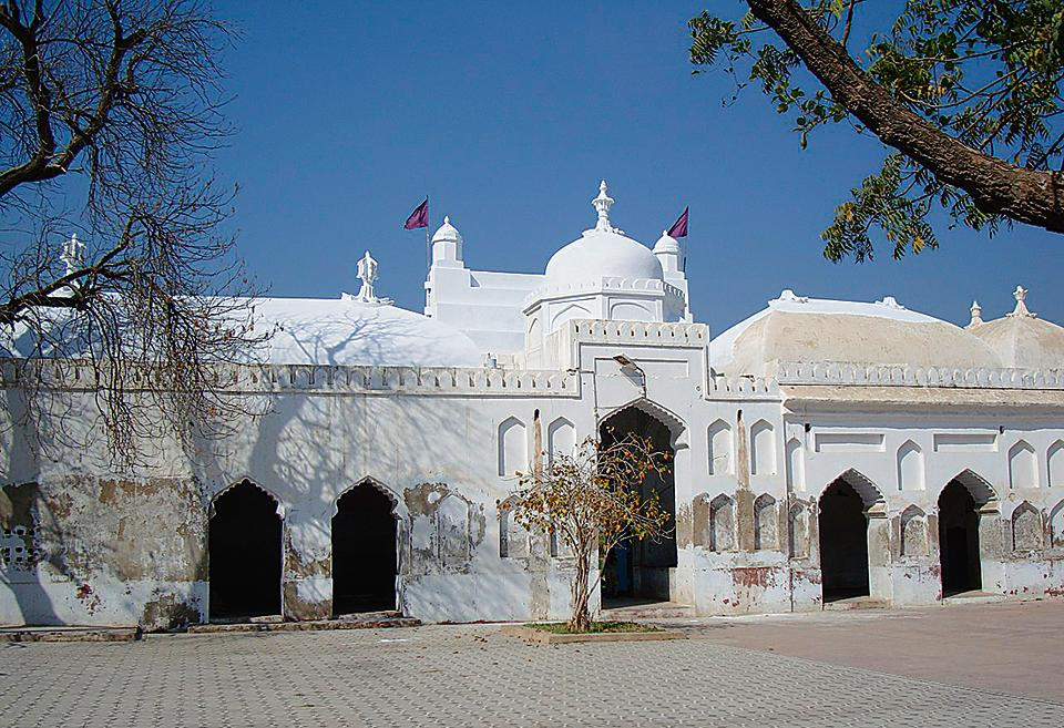 The Hindu-Muslim Jhuley Lal-Udero Lal shrine in Sindh.