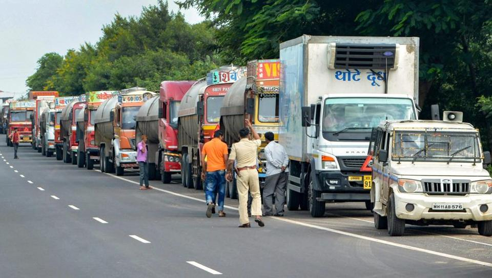 Mumbai,Maharashtra,Dairy farmers' stir