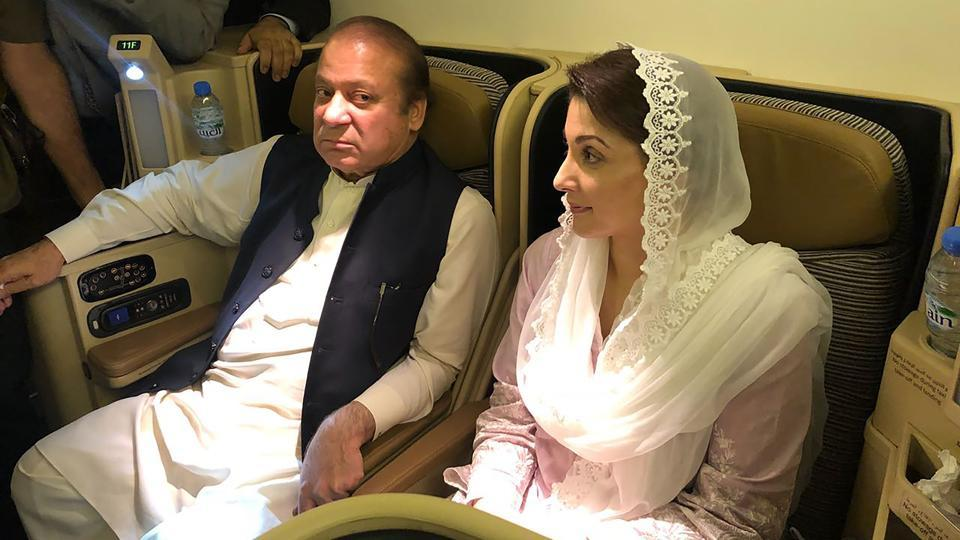 Nawaz Sharif,Maryam Nawaz,Adiala jail