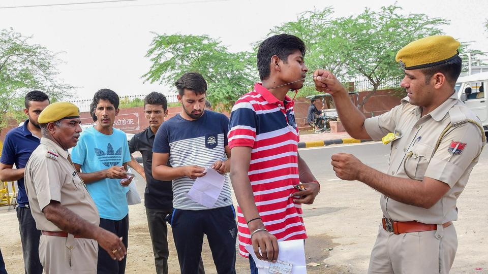 Rajasthan police constable exam answer key 2018,Rajasthan police,exam answer key