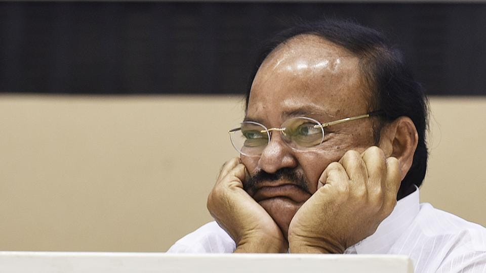 Venkaiah Naidu,Parliament monsoon session,Colonial expression