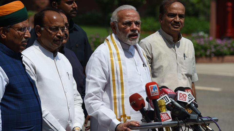 No confidence motion: Modi calls for disruption-free debate