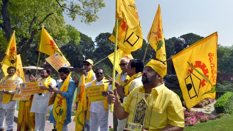 TDP,No-confidence motion,BJP