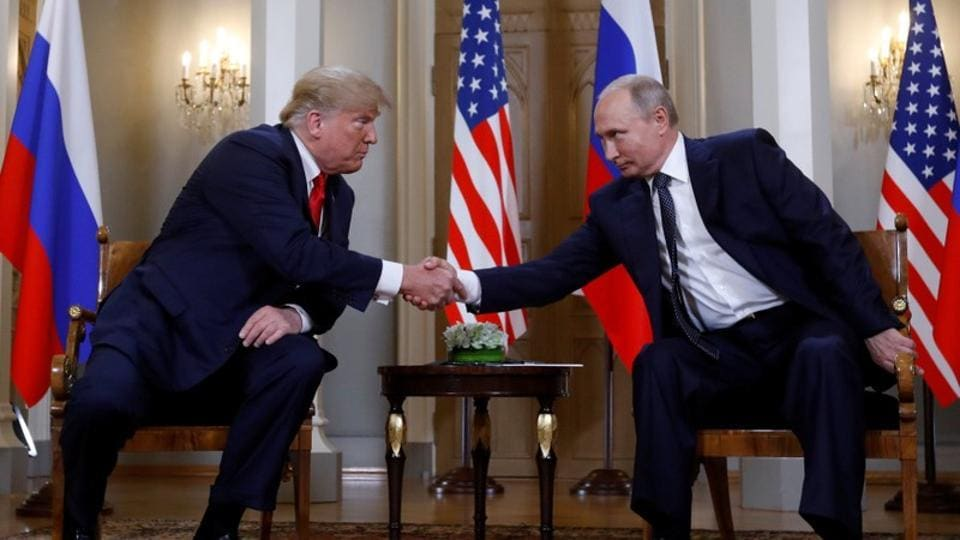 Trump invites Putin to visit US