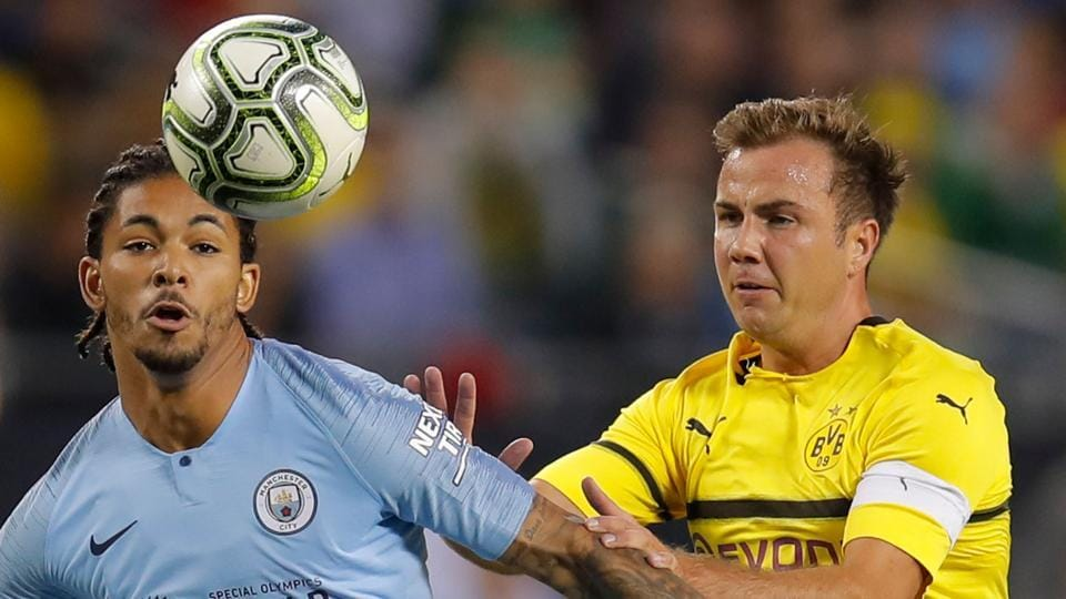 Borussia Dortmund,Manchester City,Mario Gotze