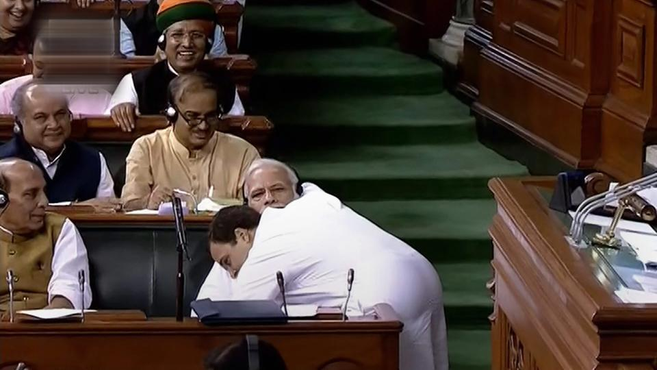 Narendra Modi,Rahul Gandhi,No confidence motion