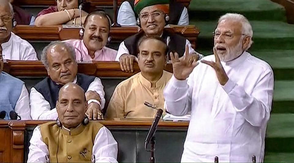 PM Modi wins vote on no-confidence motion,Modi wins no-confidence vote,NDA majority