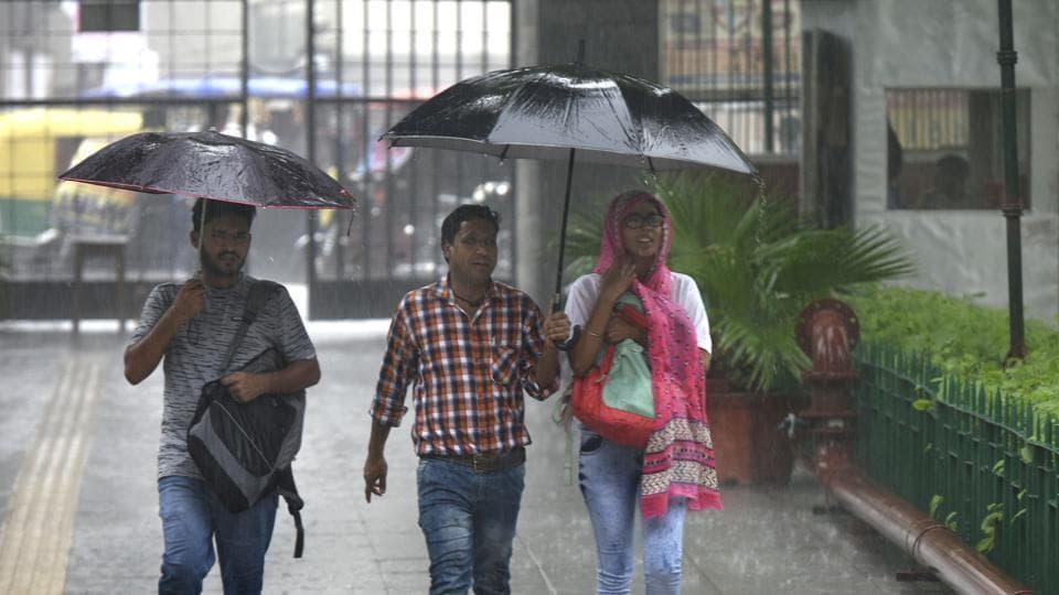 Delhi rains,Rainfall,Humidity