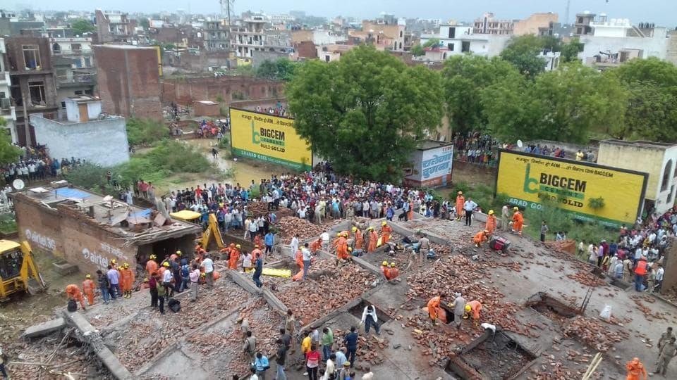 Ghaziabad,Ghaziabad building collapse,Ghaziabad News