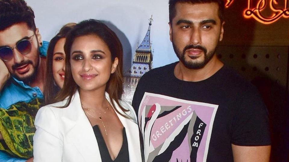 Parineeti Chopra, Arjun Kapoor turn showstoppers at a fashion show. See videos