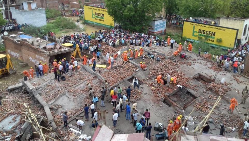 Ghaziabad,Ghaziabad building collapse,Akash Nagar