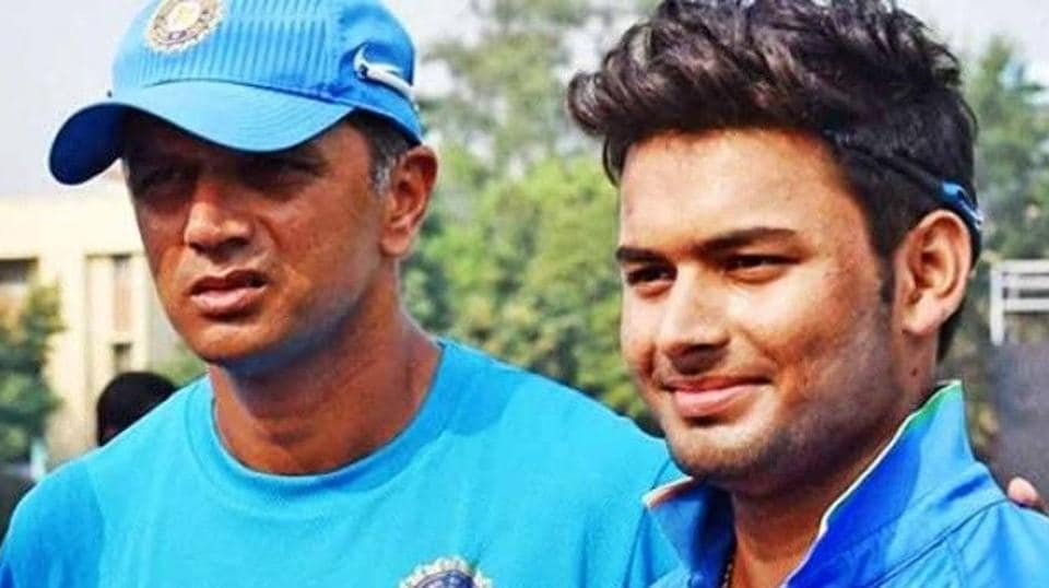 Rahul Dravid,Rishabh Pant,Test cricket