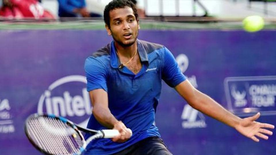 Ramkumar Ramanathan,Steve Johnson,Hall of Fame Tennis Open