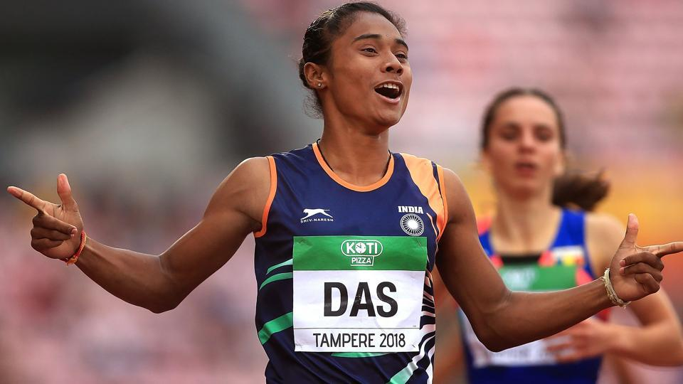 Hima Das,PT Usha,Athletics