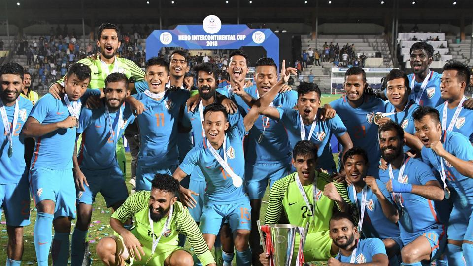 Indian men's football team is currently ranked 97th.