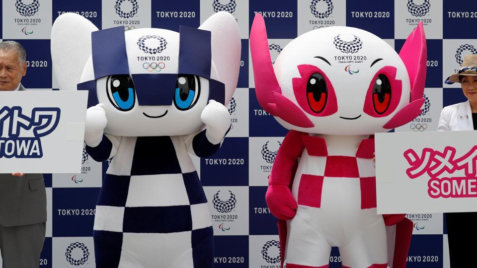 Mascot For 2020 Winter Olympics.Tokyo Introduces Futuristic Mascots For 2020 Olympics