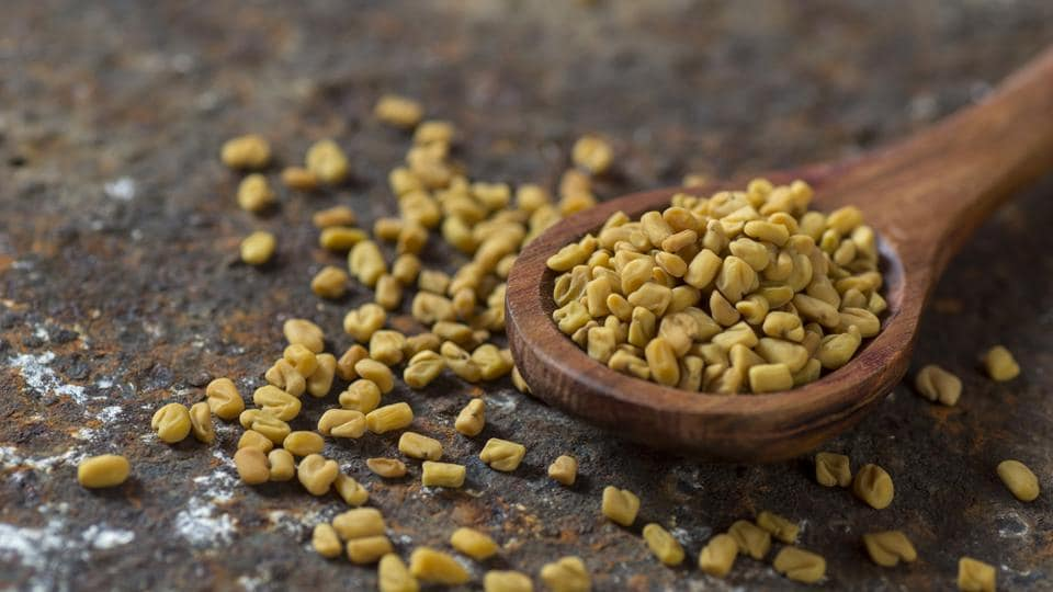 Regular consumption of fenugreek seeds helps in lowering total cholesterol, LDL (bad cholesterol) and triglyceride levels in the blood while increasing beneficial HDL cholesterol levels. This is because these seeds contain steroidal saponins that slow down cholesterol absorption of the intestines (Shutterstock)