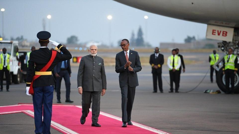 Narendra modi,Rwanda,Modi's africa visit