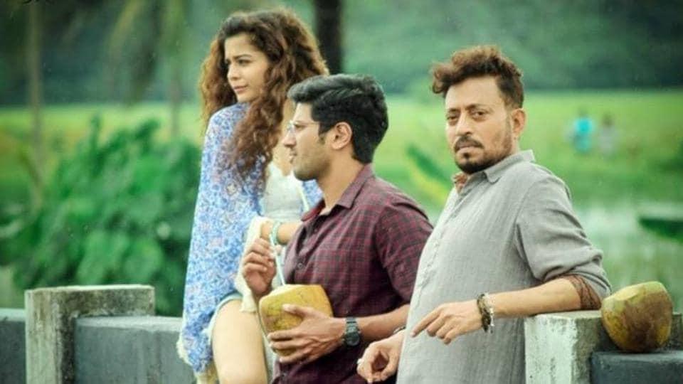 Karwaan stars Irrfan Khan, Dulquer Salmaan and Mithila Palkar.