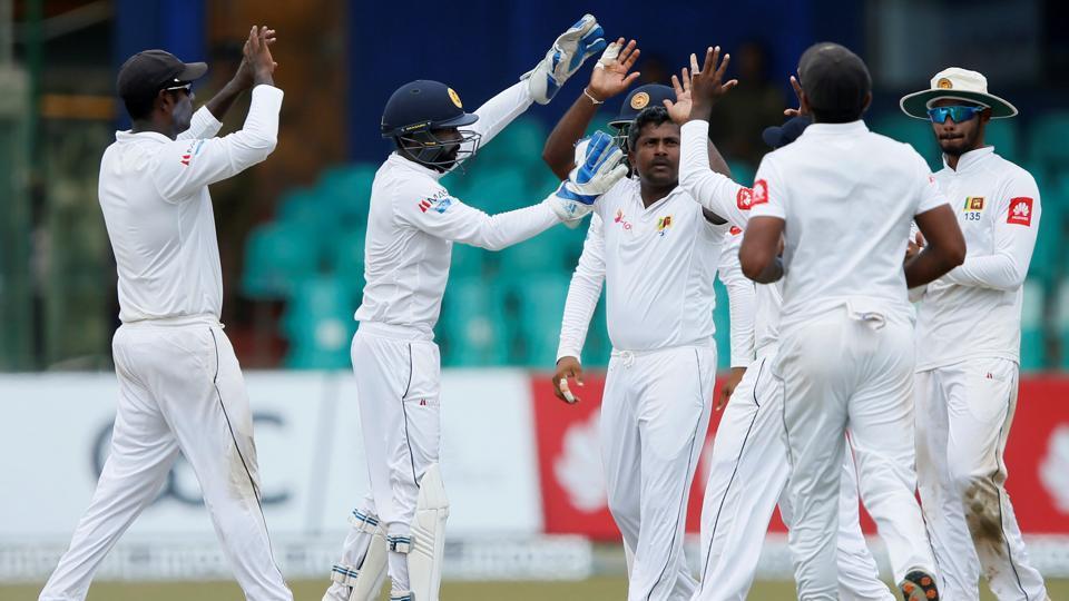 Sri Lanka vs. South Africa,Rangana Herath,Quinton de Kock