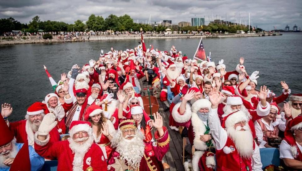 World Santa Claus Congress,Little Mermaid,Santa Obstacle Course World Championships