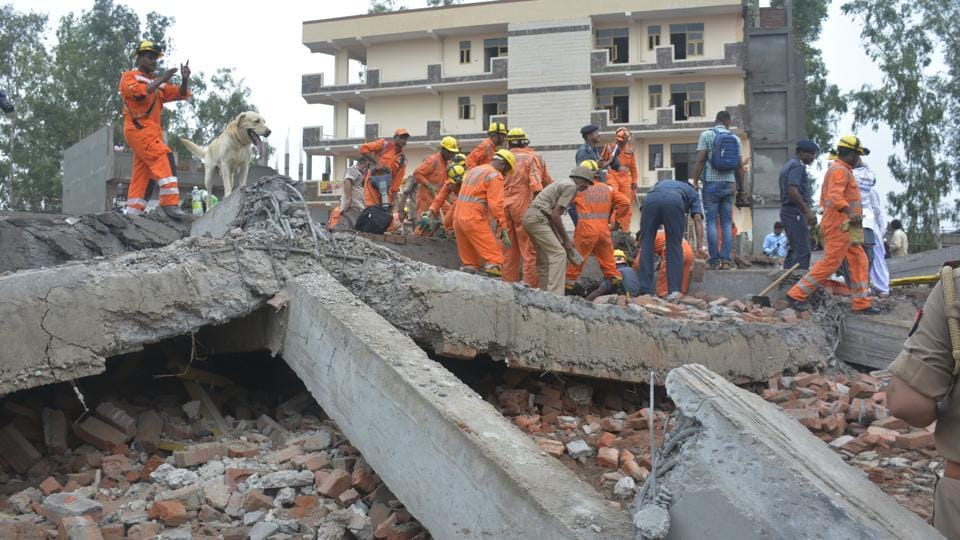 Ghaziabad,Ghaziabad building collapse,Ghaziabad Police
