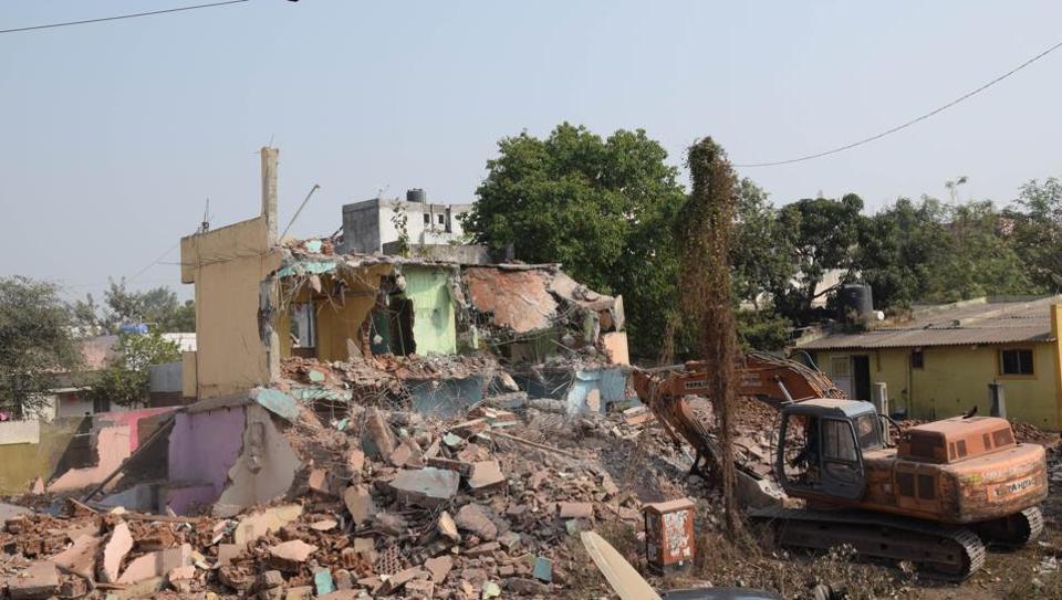 pune,maharashtra,illegal constructions