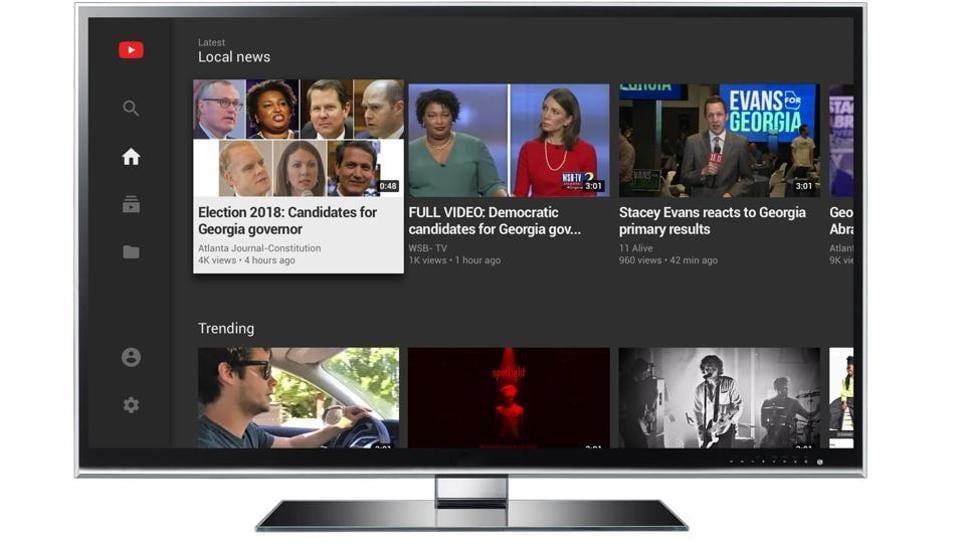 YouTube,YouTube TV,YouTube Content Creators