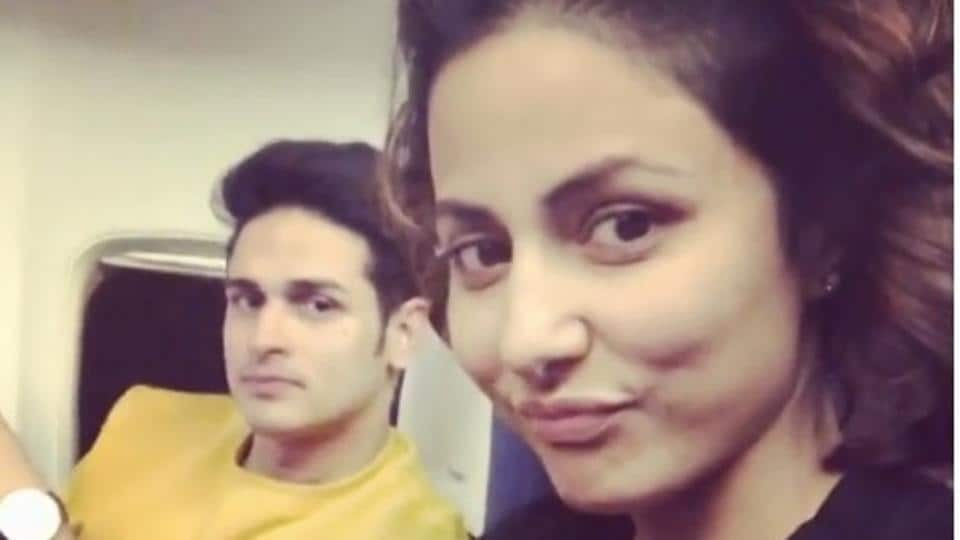 Hina Khan Mocks Priyank Sharma Reveals His Date Offer Was Rejected
