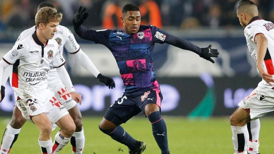 Malcom completes medical at Barcelona following £45.5m switch from Bordeaux