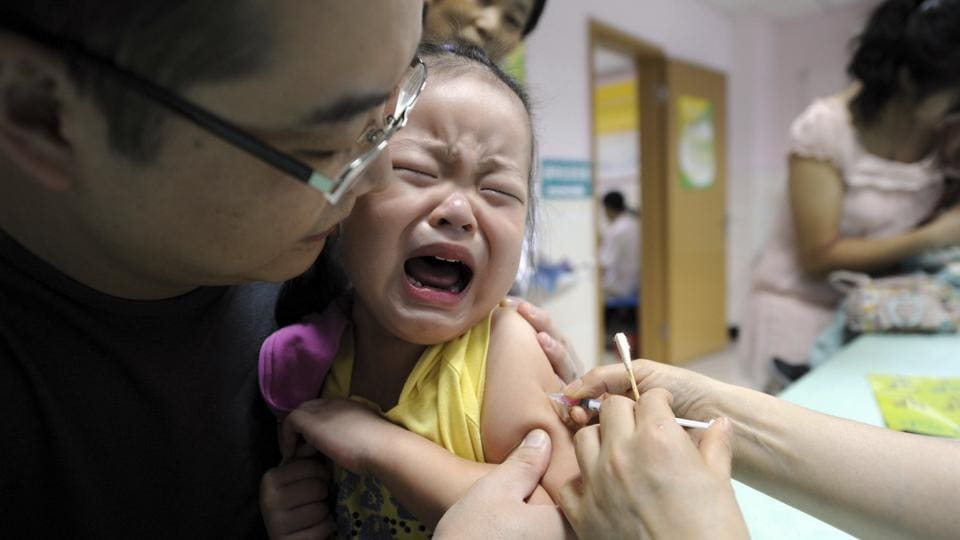 Rush for vaccines in Hong Kong after China scandal