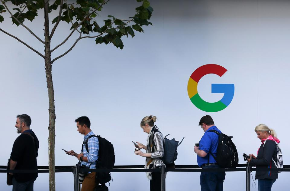 Alphabet reported two different profit figures to account for a record $5 billion fine Europe imposed last week for violating competition law with Google's Android mobile software.