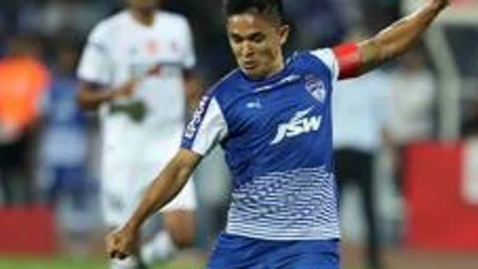 Sunil Chhetri,Bengaluru FC,AIFF