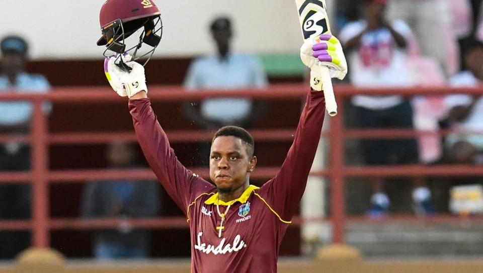 Shimron Hetmyer played an awesome knock of 125 runs off 93 balls in second ODI against Bangladesh. (Photo - getty)