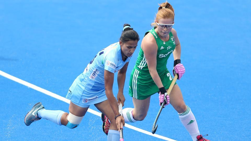 Women's Hockey World Cup,India Women's hockey team,Ireland Women's hockey team