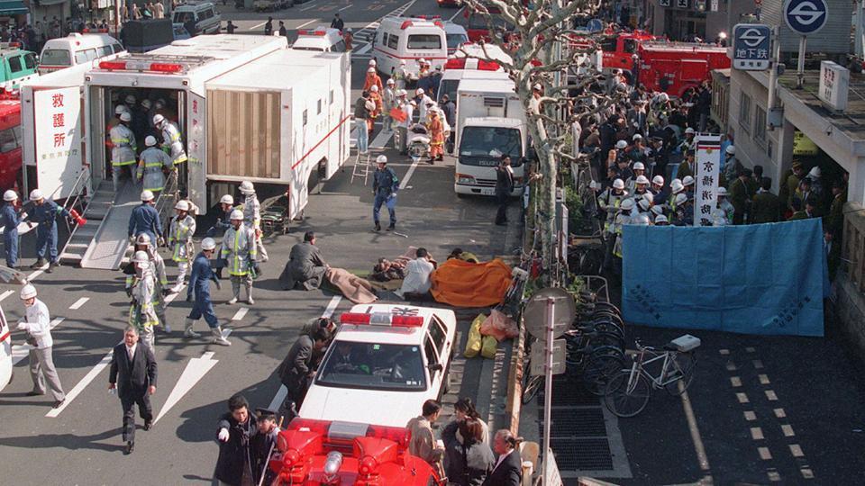 Japan executes 1995 sarin attack cult members,1995 sarin attack,1995 sarin attack in Japan