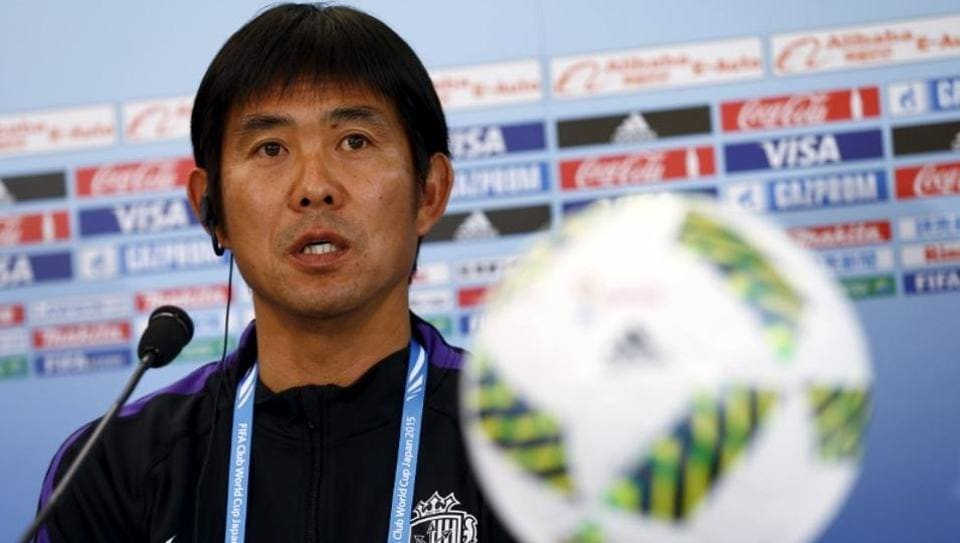 Hajime Moriyasu guided Sanfreece Hiroshima to three J.League titles between 2012 and 2015.