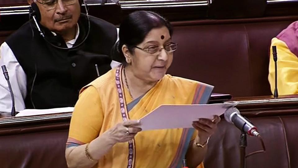 India-US 2+2 dialogue,H-1B Visa,Sushma Swaraj
