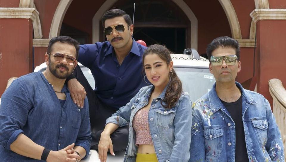Ranveer Singh and Sara Ali Khan will be seen together in Simbaa.
