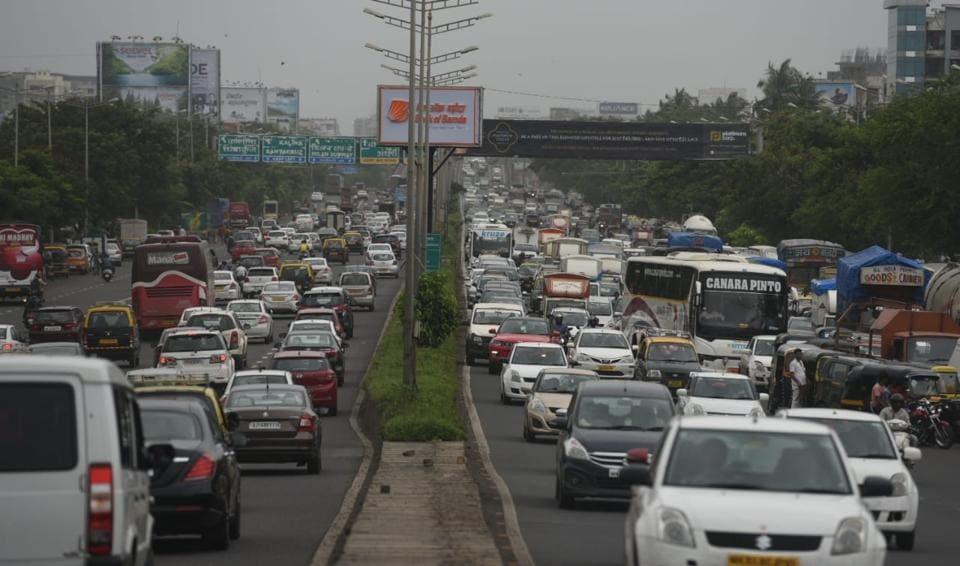 Mumbai,Western Express Highway,Traffic jam